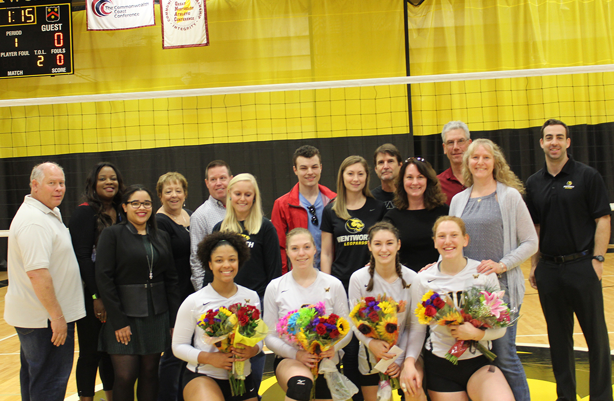 Women's Volleyball Falls to Roger Williams to End Regular Season