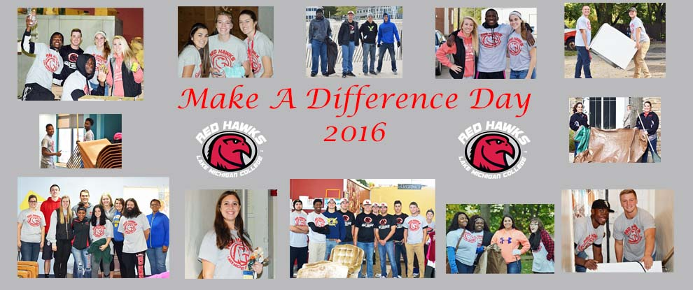 Photo for Student Athletes Volunteer Their Time To Make A Difference Day
