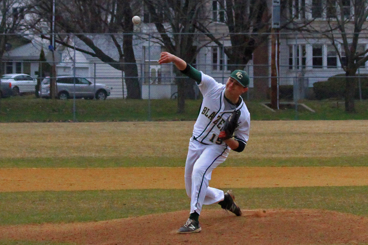 Blazers Bow Out Of NECC Tournament After 7-6 Loss To Becker