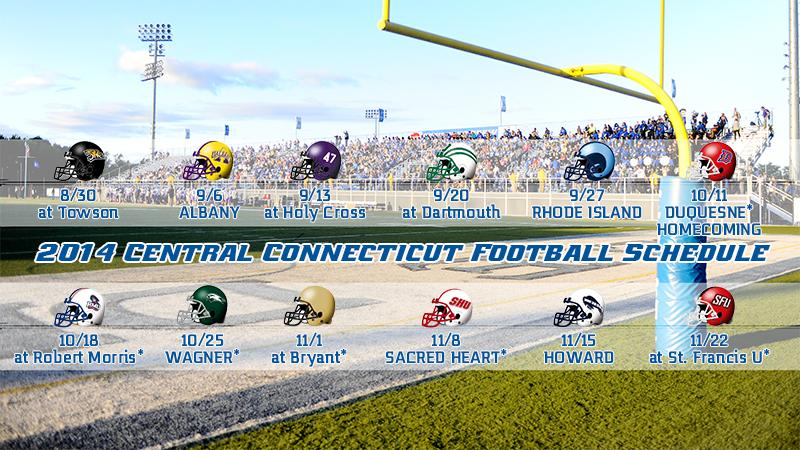 Six Home Games Highlight 2014 Football Schedule