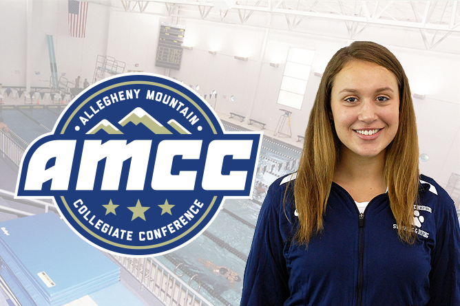 Puglia Named AMCC Swimmer of the Week