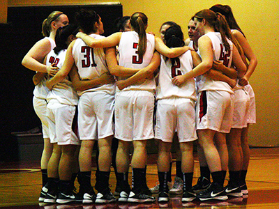 Women's Basketball Clinches First-Ever Playoff Spot With Victory