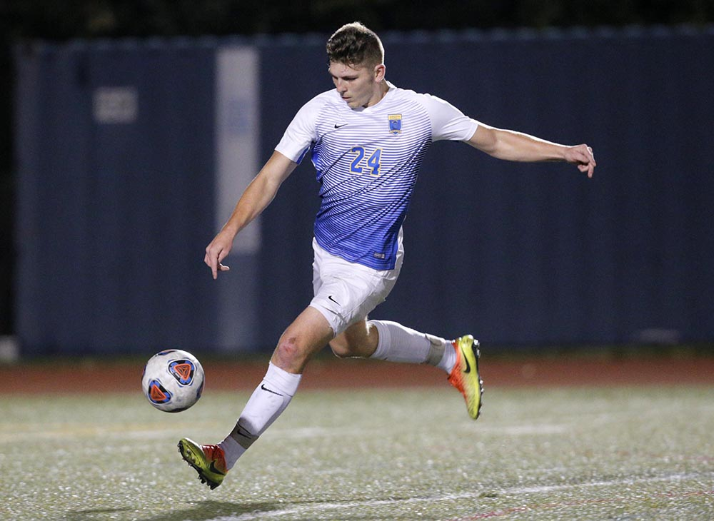 Men's Soccer Shutout by Salem State, 2-0