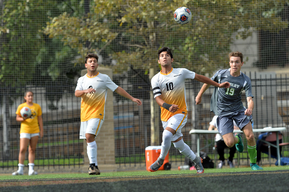 Fast Start Lifts Springfield to Win Over Men's Soccer