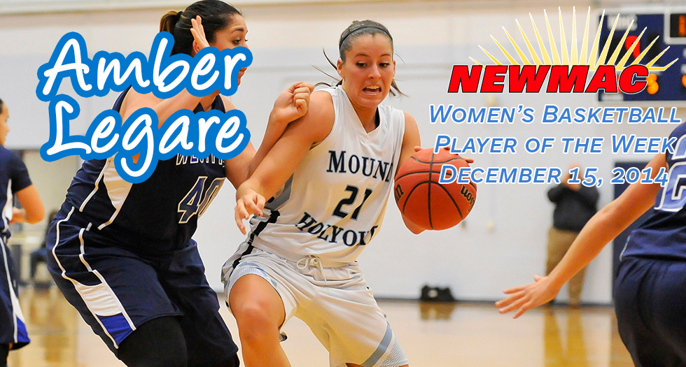 Legare Named NEWMAC Player of the Week