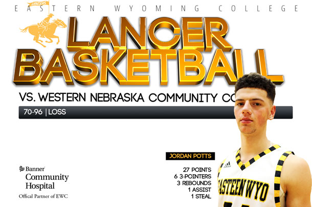Eastern Wyoming College Lancer Basketball team vs. Western Nebraska Community College Basketball team
