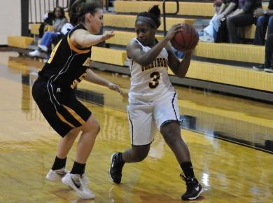 Dominant Second Half Guides Lady Petrels to Victory