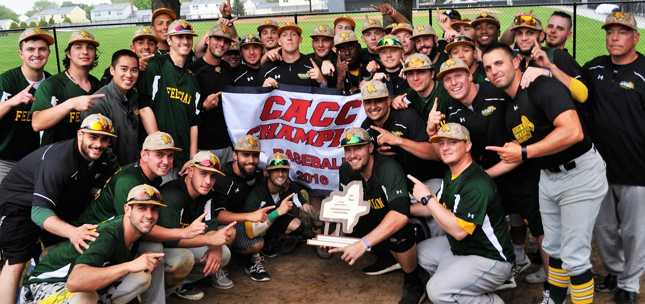 Felician Wins Twice on Saturday to Claim 2016 CACC Baseball Championship