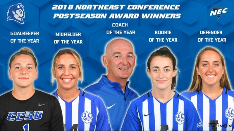 Women's Soccer Earns Five NEC Postseason Awards