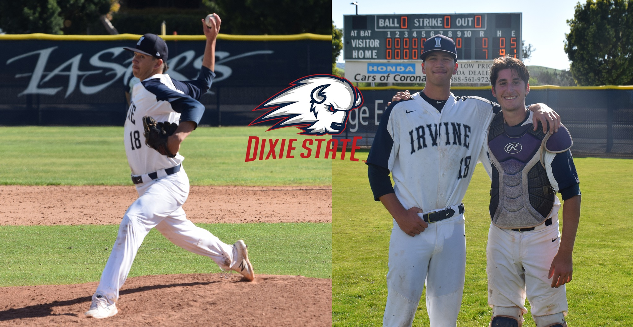 Laser pitcher Justin Dunham signs with Dixie State