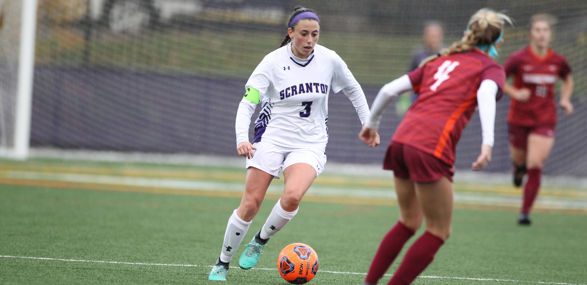 University of Scranton alumnus Erica Licari became just the 17th student-athlete in athletics program history to be awarded an NCAA Postgraduate Scholarship recently.