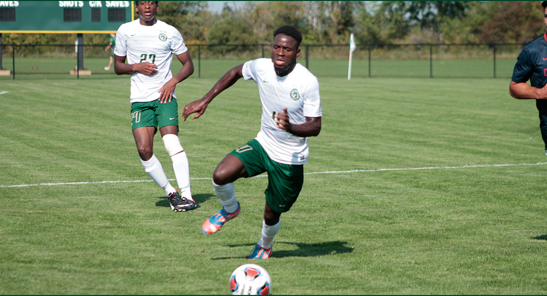 Abdoul Magid Sy scored both goals in a 2-1 victory over Findlay.