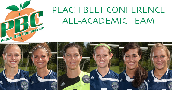 Six Bobcats Named to Peach Belt All-Academic Soccer Teams