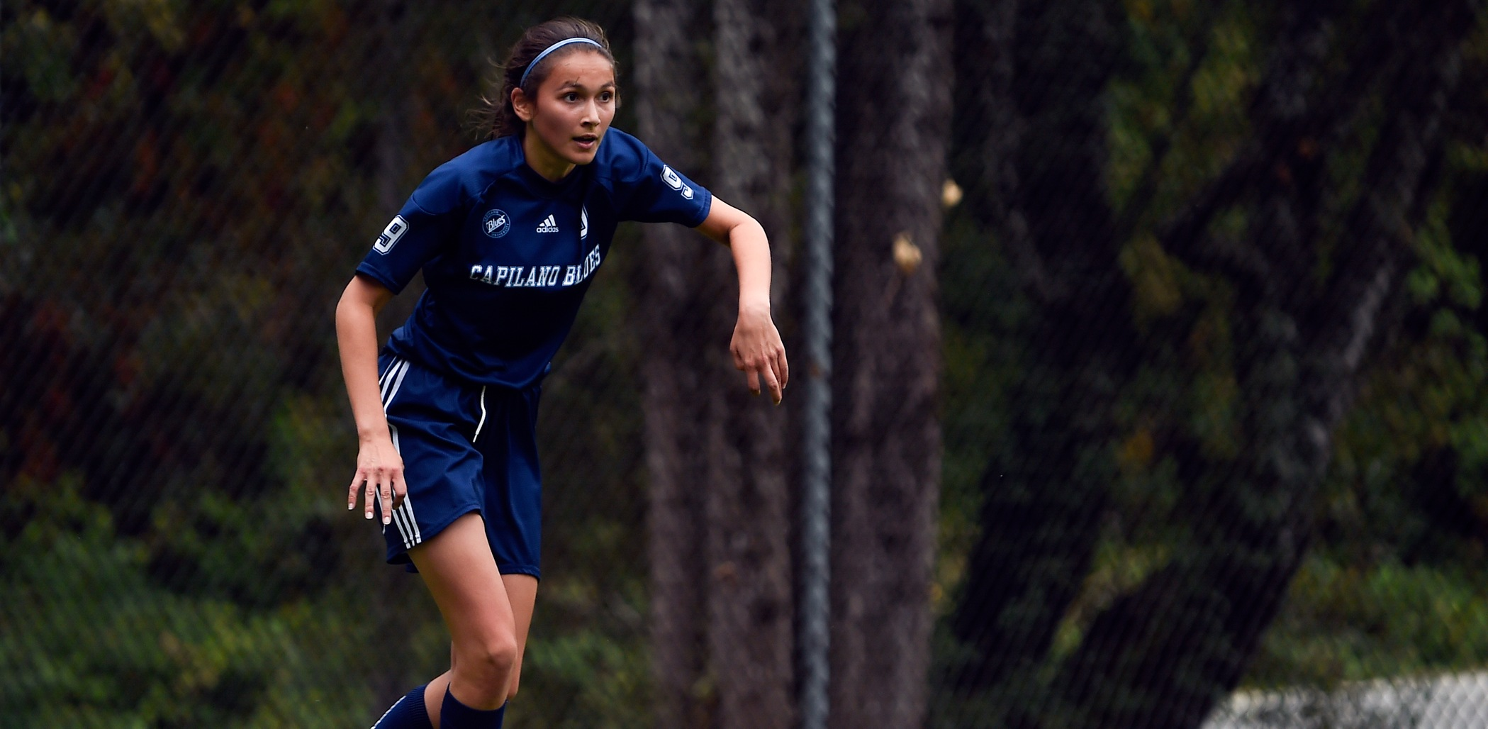 Rookie defender Alanah Dulong. Photo Tae Hoon Kim / Capilano University