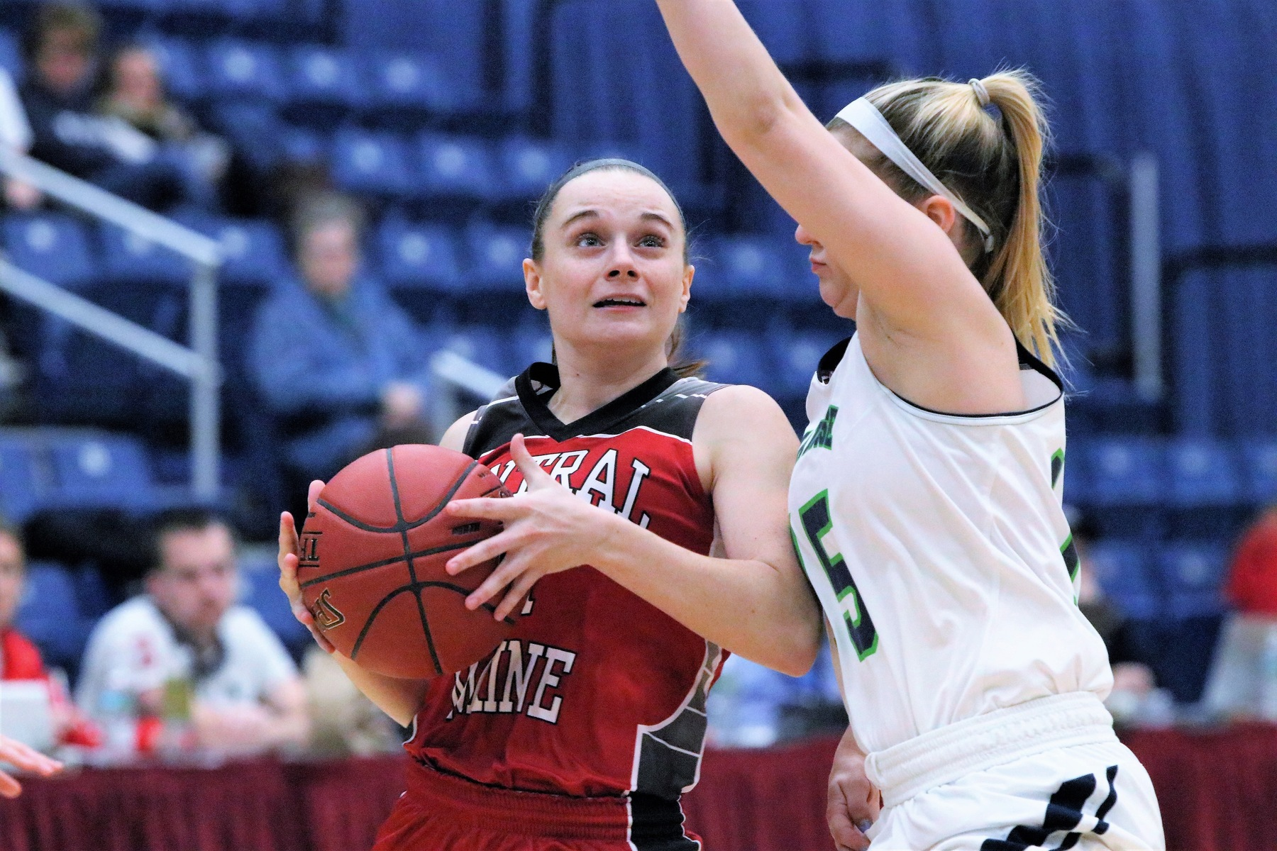 Down 17, Lady Mustangs storm back, shock UMA
