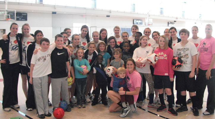 Bobcat Soccer Hosts Free Valentine's Clinic Feb. 16