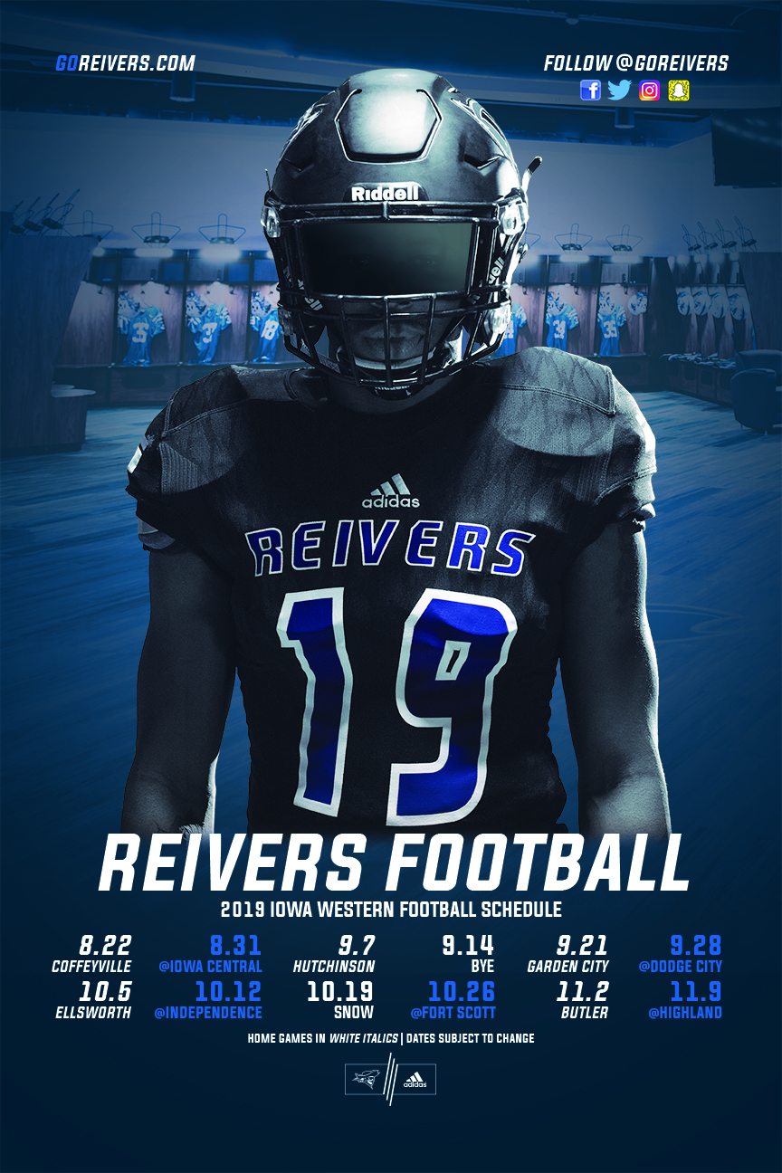 Snow Coming in October, Reivers add JUCO Power to 2019 Schedule