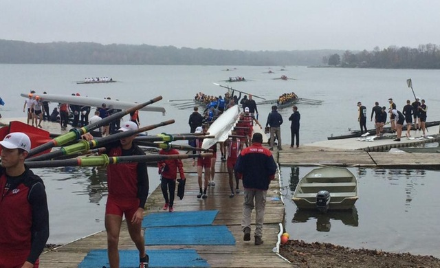 Rowing Wraps Up Fall at Bald Eagle Invite