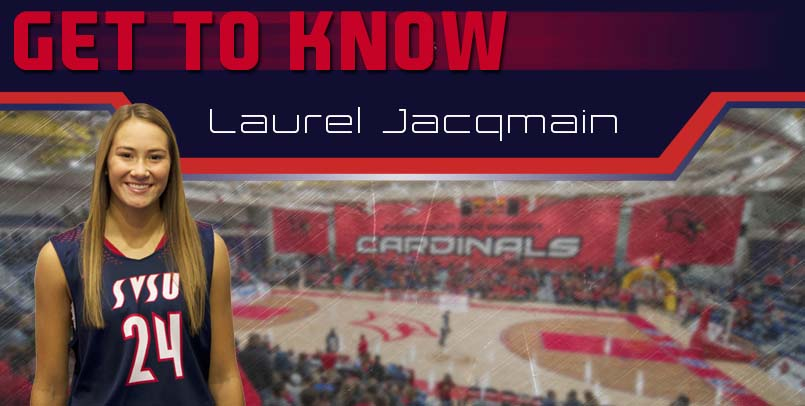 "SVSU Women's Basketball ""Get to Know"" - Laurel Jacqmain"