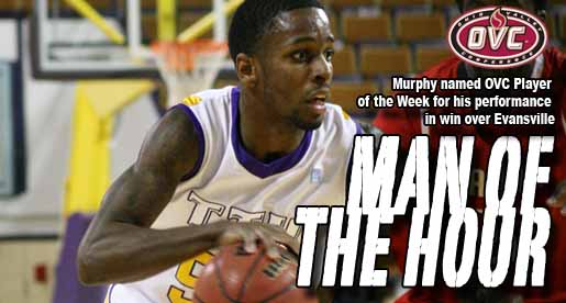 Murphy nets pair of OVC Player of the Week honors