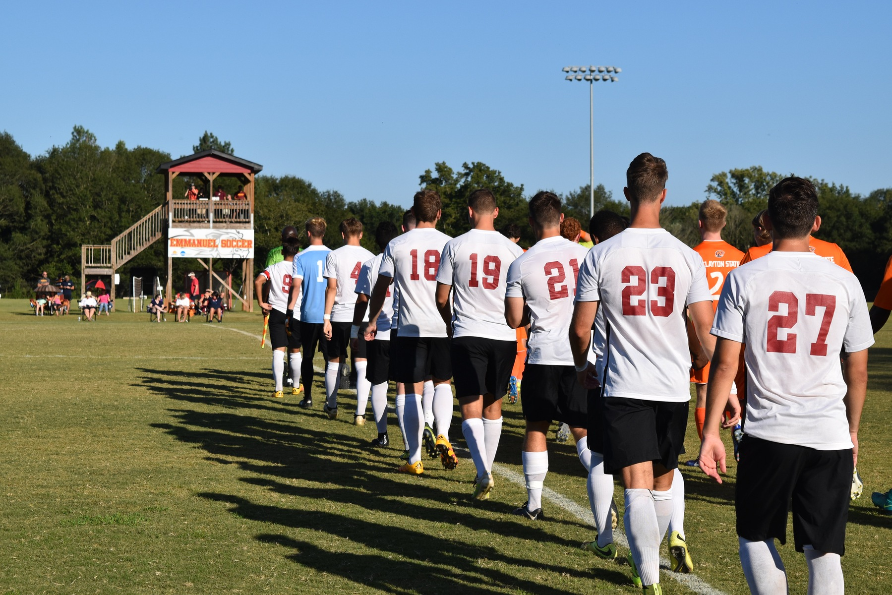 Men's Soccer With Another Win