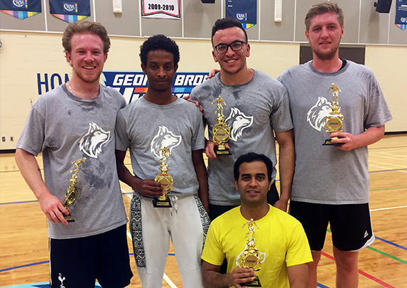 GEORGE BROWN INTRAMURAL SOCCER LEAGUE PROVIDES COMPETITIVE FUN IN FALL SEMESTER
