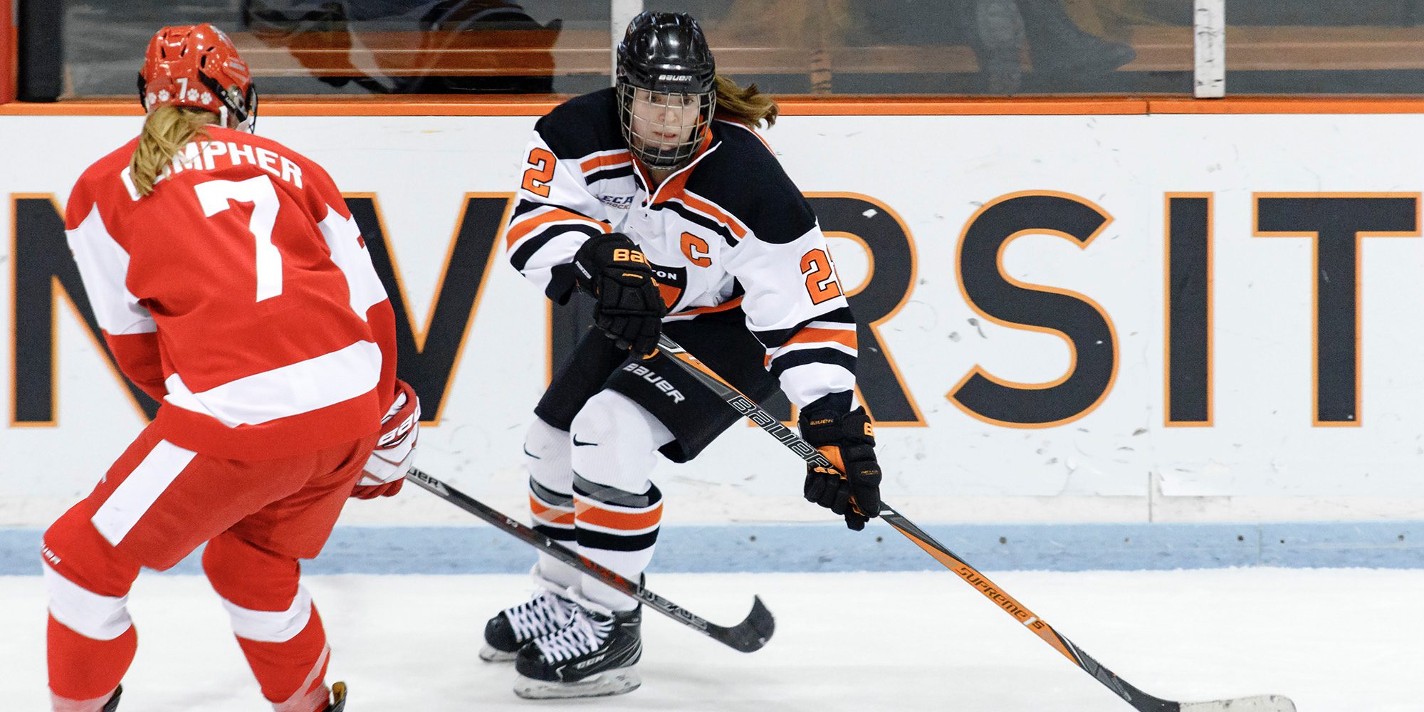 Falck Scores in Princeton's Draw with BU