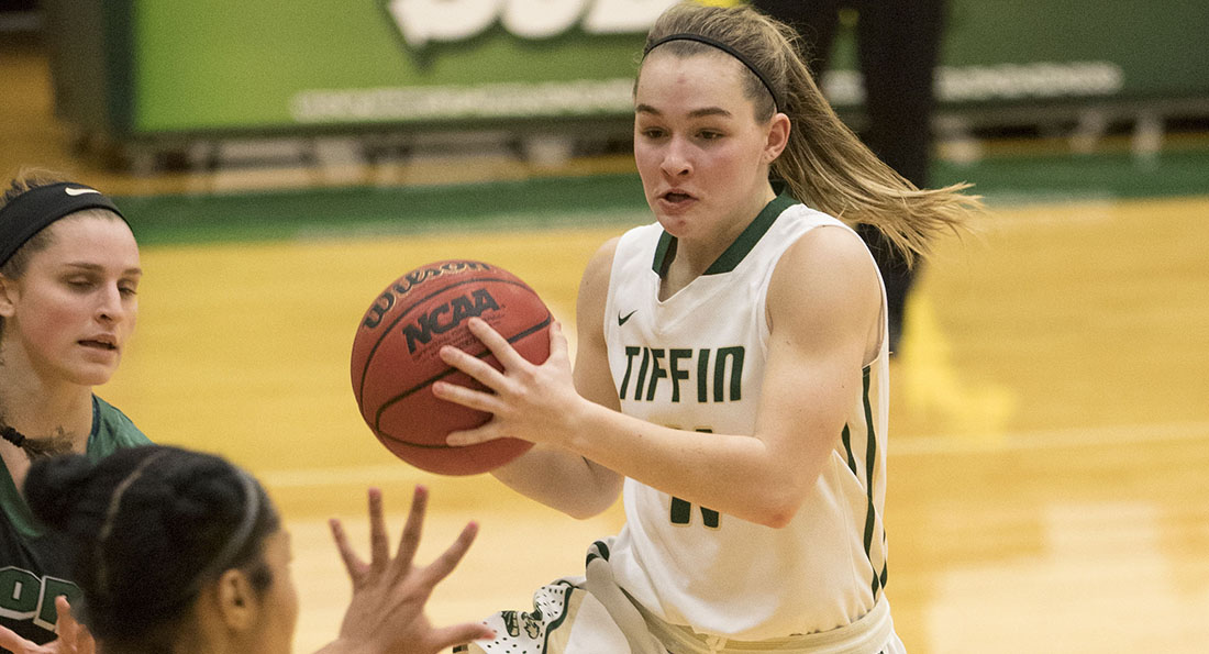 Ali Schirmer led the way offensively for Tiffin, scoring 18 points on 7 of 16 shooting from the field.
