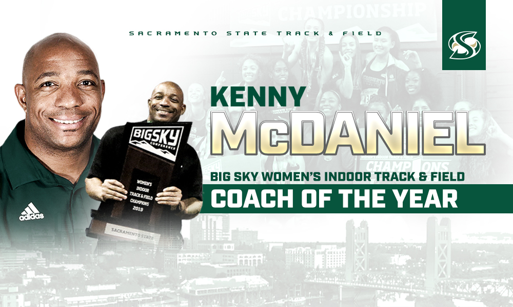 KENNY MCDANIEL NAMED BIG SKY WOMEN'S INDOOR TRACK & FIELD COACH OF THE YEAR