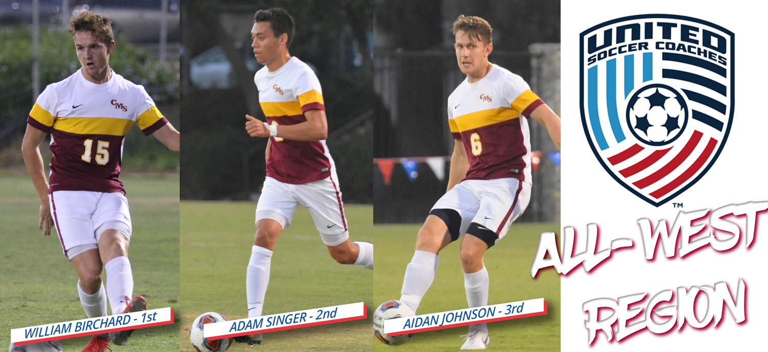 CMS Men's Soccer Has Three Players Named to All-West Region Team