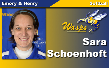 E&H Selects Schoenhoft for Softball Post