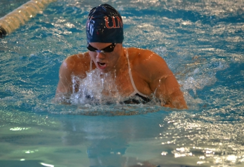 UMW Swim Teams Off to Fast Start at CAC Swimming Championships