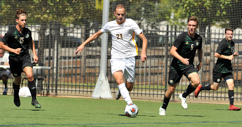 Men's Soccer Goes on the Offensive in Win over Suffolk