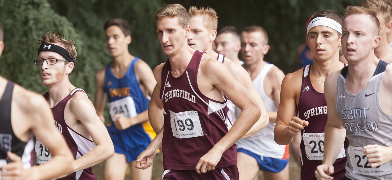 Men's Cross Country Competes at Purple Valley Classic