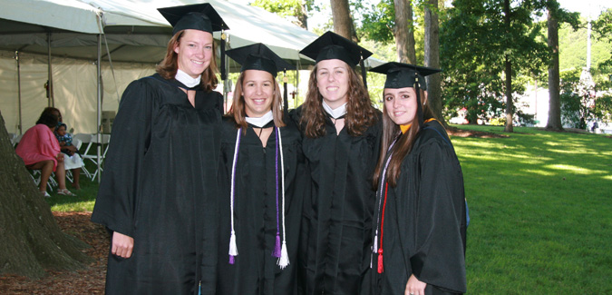 63 Emory Student-Athletes Go Through Graduation Ceremonies