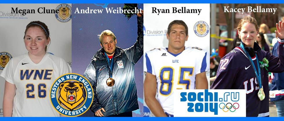 Western New England Golden Bears have Ties to Winter Olympics in Sochi, Russia