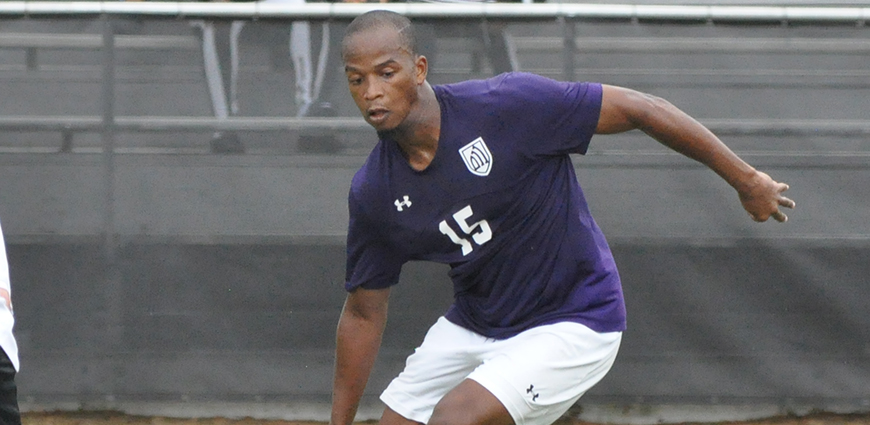 Charleus Emmanuel Ritch had the game-winning goal against Sul Ross.