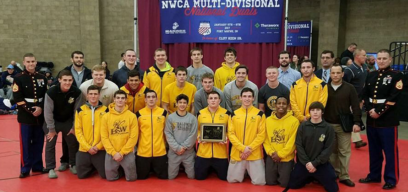 No. 15 Wrestling Team Finishes Fifth at NWCA Duals