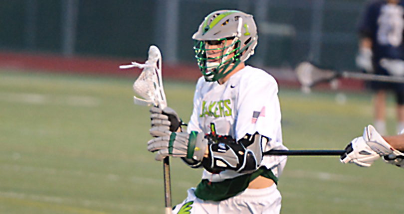 Senior Reid Delaney set a new single-season points record for the Wilmington College lacrosse program in Sunday's win over Muskingum. (Wilmington file/Randy Sarvis)