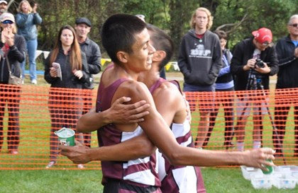 Men's XC sets CCAA Championships standard