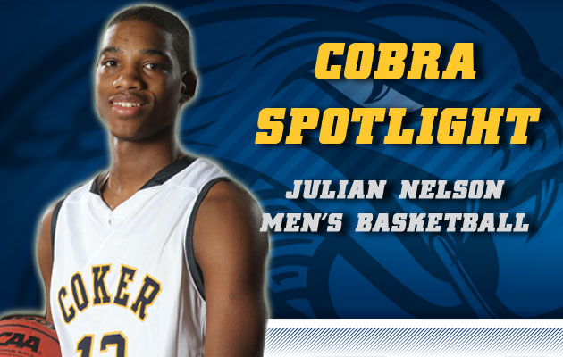 Cobra Spotlight- Julian Nelson, Men's Basketball