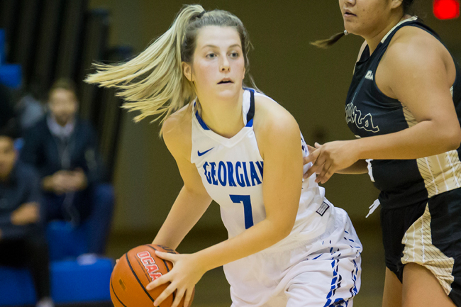 SHORTHANDED WOMEN'S BASKETBALL TEAM FALLS TO LORDS