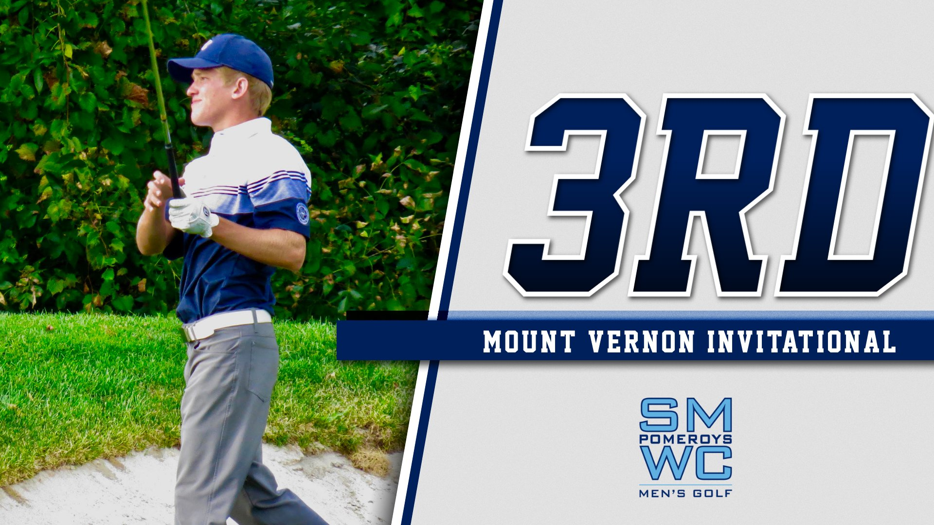 Men's Golf Finishes Third at Mount Vernon, Kuppler Takes First Place