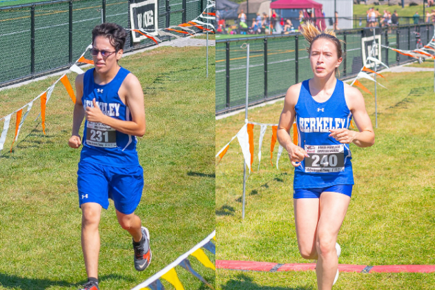 Men's and women's cross country teams compete in Desales University Invitational