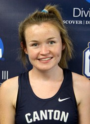 McMorrow recognized as Association of Division III Independents women's cross country Student-Athlete of the Month