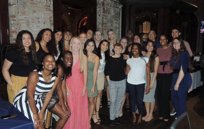 Women's Basketball Looks Back on Memorable 2018-19 Season at Annual Banquet