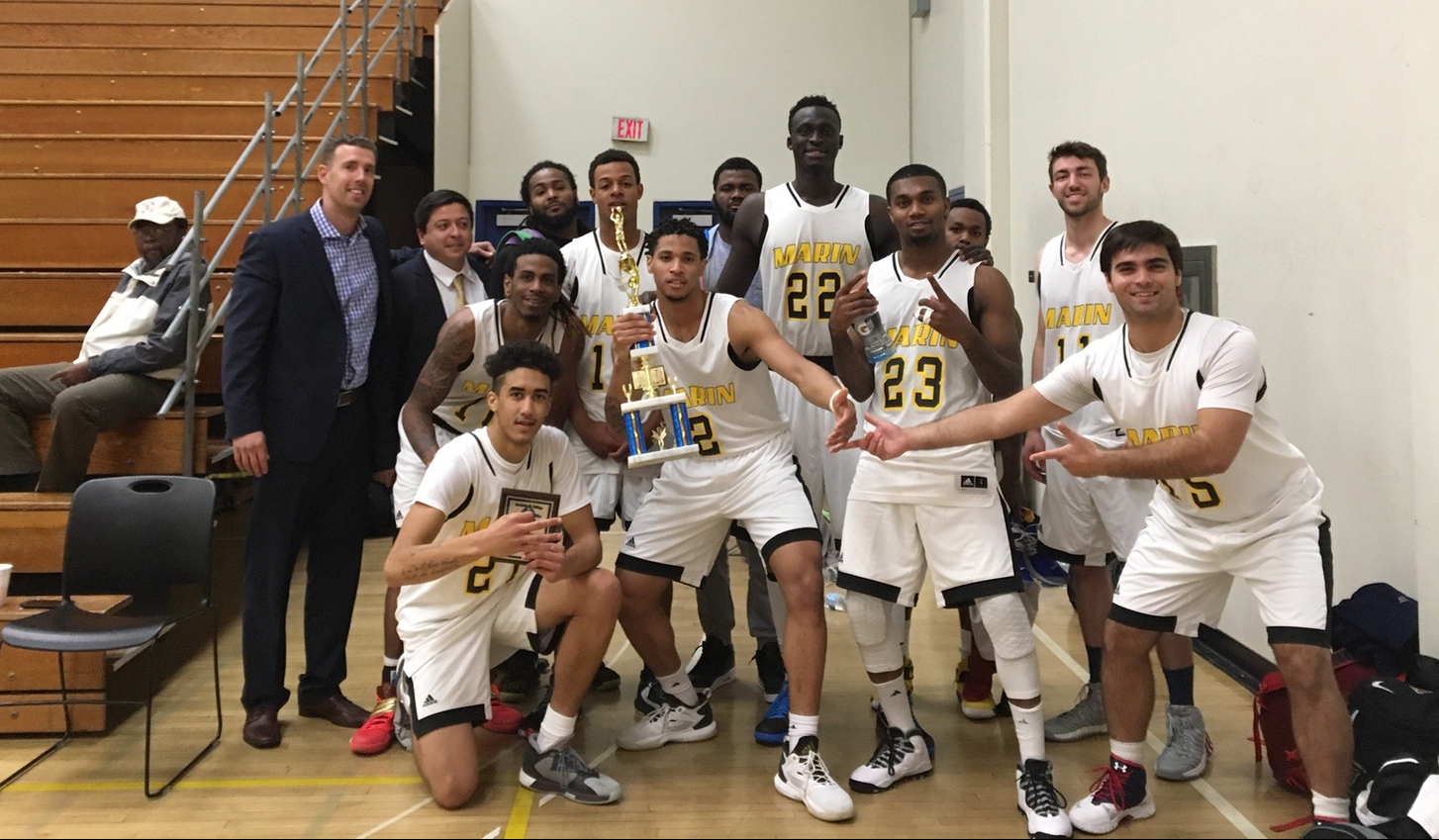 College of Marin Men's Basketball Takes Third In Modesto College Tournament