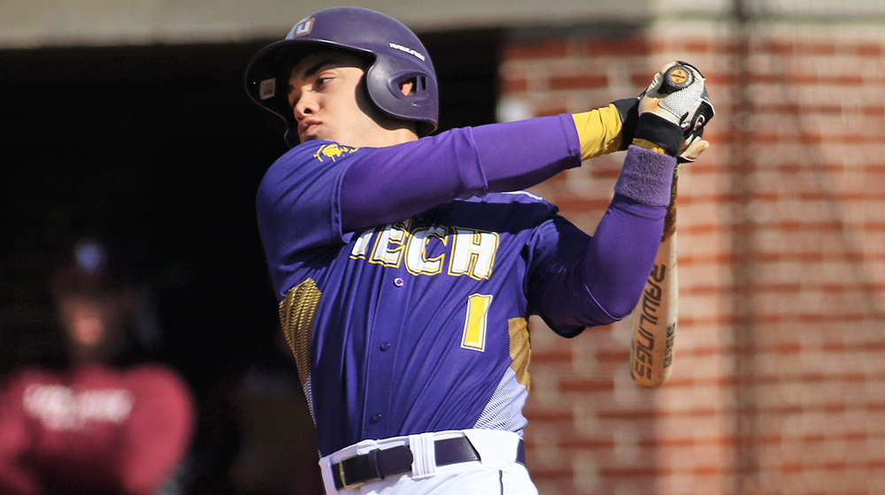 Tech baseball to square off with Lipscomb in Nashville Tuesday