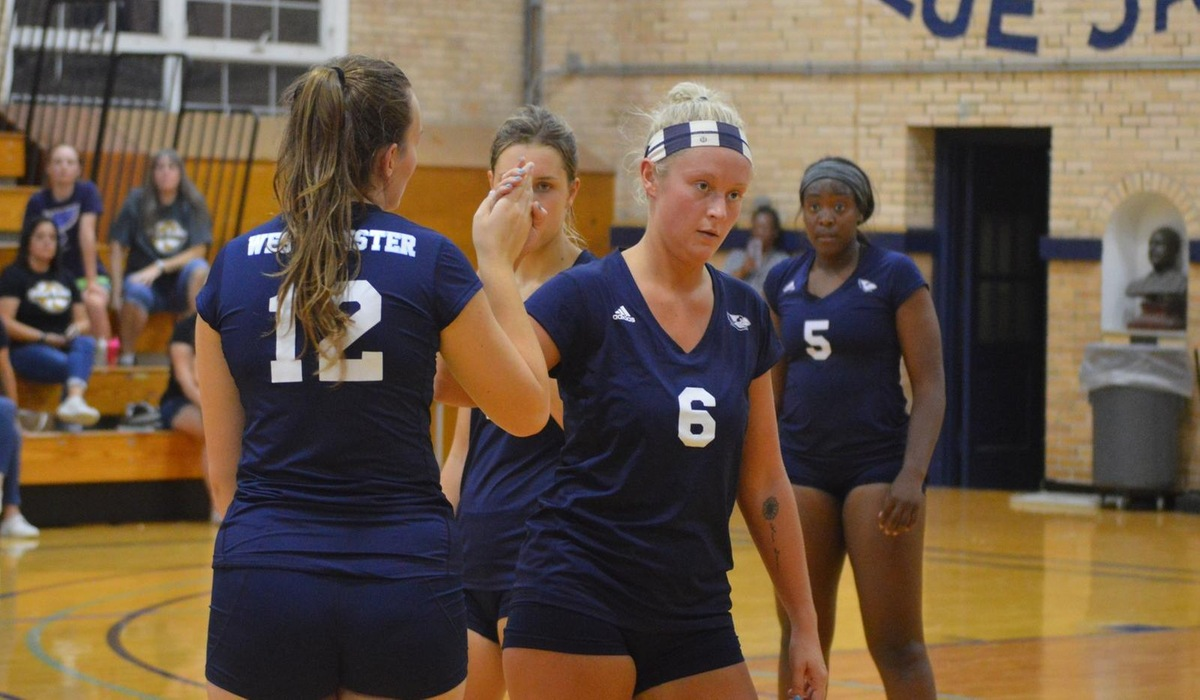 Westminster Volleyball Swept By WashU