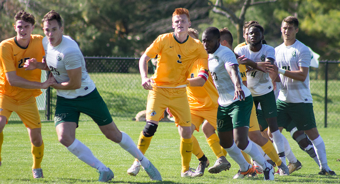Tiffin University defeated the Wildcats 2-0.